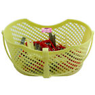 PLASTIC PEG BASKET WITH 40 CLOTHES PEGS HANGING HOOK HANDLE LAUNDRY HANDY BAG