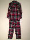 NEW@ Lauren by Ralph Lauren Home For The Holiday Flannel Plaid Pajama Set 819497