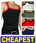 Mens HIGH QUALITY Gym Vest ** £1.99 Only ** Fitted Top Slim Fit NWT SZ All Sizes