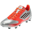 adidas F10 TRX FG miCoach compatible Metallic Silver/Infrared V21312