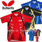 2013 NEW Butterfly men's table tennis clothing / Badminton T-shirt  Free shippin
