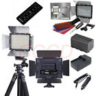 YN-300 II LED Video Light Camera DV Camcorder For Canon Nikon +Battery+Charger H
