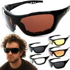 Chopper Oversized Wind Resistant Sports Sunglasses Motorcycle Riding Glasses