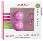 Pink Geisha Twin Balls Deluxe Silicon Personal Massager Ladies Women Novelties