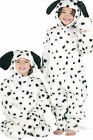 Dalmatian Dog Costume Kids Fancy Dress for World Book Day White Black Fur