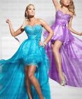 New Designer Custom Made Hot Selling Sweetheart Low High Evening Prom Dress