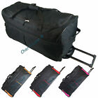 "Mens Womens 30"" Large Wheeled Holdall Trolley Hand Luggage Travel Bag Suitcase"