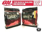 Optimum Nutrition 100% Gold Standard Whey Protein 6 lbs 90 Serves 2 Flavors SALE