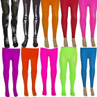 GIRLS NEON TIGHTS/ FOOTLESS   AGE 3-14 TUTU   PARTY FANCY DRESS KIDS