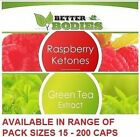 Raspberry Ketones & Colon Cleanse Slimming Diet Weight Loss Fat Burn Pills
