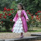 Girls Childrens Marie Antoinette Queen Tudor Lady Fancy Dress up Costume Outfit