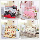 Baby Bedding Set Crib Cot Quilt Sets. 15 Pieces Lovely Cartoon Theme. Cot Bumper
