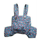 Cute Pet Dog Apparel Strawberry Jeans Strap Pants Overalls Jumper Clothing New