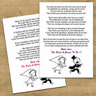 Wedding Cash Money Voucher Request Poems For Invites Cheap & Funny RG2 Design
