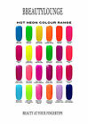 Bluesky Neon Colour UV Soak off gel 10 free shellac wraps orders over 6 bottles