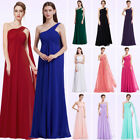 US Long Chiffon Wedding Bridesmaid Dresses Homecoming Prom Ball Gowns 09816