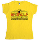 New Womens T Shirt -  Inspired by Doctor Who T Shirt - Bad Wolf Ladies