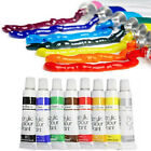 ACRYLIC PAINTS NAIL ART SET COLOURS KIT 3D ARTIST PAINTING POLISH ACYLIC NAILS
