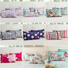 100%Cotton Floral Standard PillowCases 45cm*75cm Cushion Covers Home Decor New