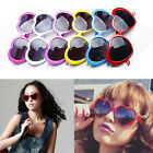 Lady's Fashion Funny Summer Love Heart Shape Lolita Sunglasses Sun Glasses Gift