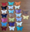 150 PEARLESCENT BUTTERFLY CONFETTI Wedding PARTY Table Confetti Topper style b