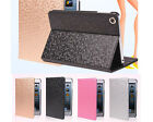 Individual Leather Smart Case&Screen Protector For iPad Mini 2 3 4 Diamond Grain