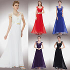 US Womens Long Evening Party Bridesmaid Gown Formal Prom Dress 09867 Ever-Pretty