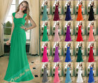 Long Chiffon Bridesmaid Party Evening Ball Gown Prom Formal Dress Cocktail 6-26