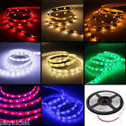 12V 5M 300 LED Strip Light 3528/5050 SMD/RGB Ribbon Tape Roll Waterproof IP65 UK