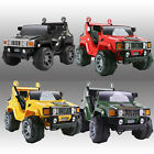 KIDS RIDE ON BIG JEEP ELECTRIC CHILDRENS 12V HUMMER TWO SEATER TOY CAR / CARS