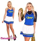 Girls Cheerleader Uniform School Girl Costume Full Outfits Fancy Dress Costume