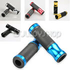 "7/8"" 22mm Universal Motocross Motorcycle Soft Gel Aluminum Handlebars Grips New"