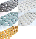 variation account flat oval shape colorful lava loose beads 35*25mm