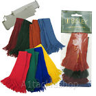 Bisley Assorted 4 Pack Shooting  Garter Garters Set  Subdued or Bright Colours