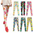 HOT SELL Women's Sexy Vintage Retro Flower Leggings Cotton Floral leggings