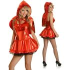 Adult Storybook Little Red Riding Hood Party Costume Halloween Fairy Tale Outfit