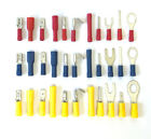 Electrical Crimp Terminals - Pin, Piggy, Spade, Blade, Butt, Fork, Ring, Bullet