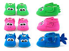 JIP Animonster 100% Cotton Baby Slippers, Ages 6-18 Months -- Choose Color!