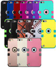 TUFF Hard Hybrid Snap On Impact Armor Case Cover Skin  iPod Touch 5th 6th Gen