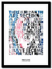 PINK FLOYD - Comfortably Numb - lyric poster ❤ typography art print - 4 sizes #3