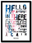 PINK FLOYD - Comfortably Numb - lyric poster ❤ typography art print - 4 sizes #5