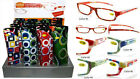 Retro Pattern Fashion Plastic Reading Glasses  with soft Case + FREE GIFT!