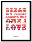 THE NATIONAL ❤ Daughters Of The Soho Riots ❤ poster typography art print 4 sizes