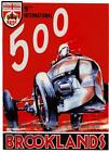 RETRO METAL PLAQUE :9th INTERNATIONAL 500 BROOKLAND sign/Ad