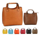 U158 Leather women lady handbag purse tote shoulder bag Shopper Vintage Bag Gift