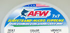 13 LB, 7X7 AFW SURFSTRAND MICRO SUPREME 49 STRAND -KNOTABLE-STAINLESS STEEL WIRE