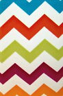 Chevron Zig Zag Multi Color Light Switch Plates or Electrical Outlet Covers