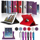 LEATHER 360 DEGREE ROTATING CASE COVER STAND FOR NEW APPLE iPAD 5 iPAD AIR 2013