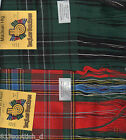 Tartan Sash MacLean Ladies Scottish Plaid Ships free in US