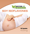 Soya Isoflavones Capsules Safe & Natural UK Manufactured FREE Delivery